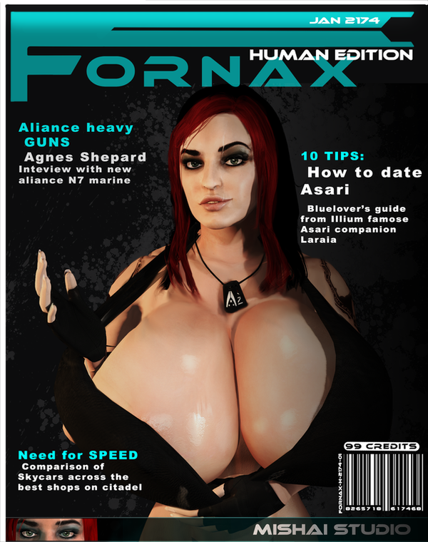 FORNAX Cover page JAN 2174 by Mishai