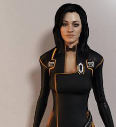 Miranda Lawson - Ruthless efficiency by Mishai