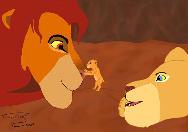 Simba, Kiara and Nala by Tarsicius on DeviantArt