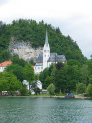 Bled's church