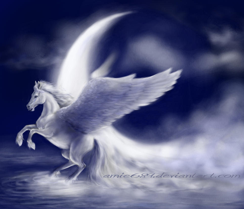 Pegasus The Winged Horse A Rp New