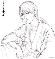 takeru sato as kenshin by amie689