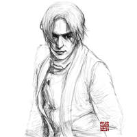 Aoshi- sketch by amie689