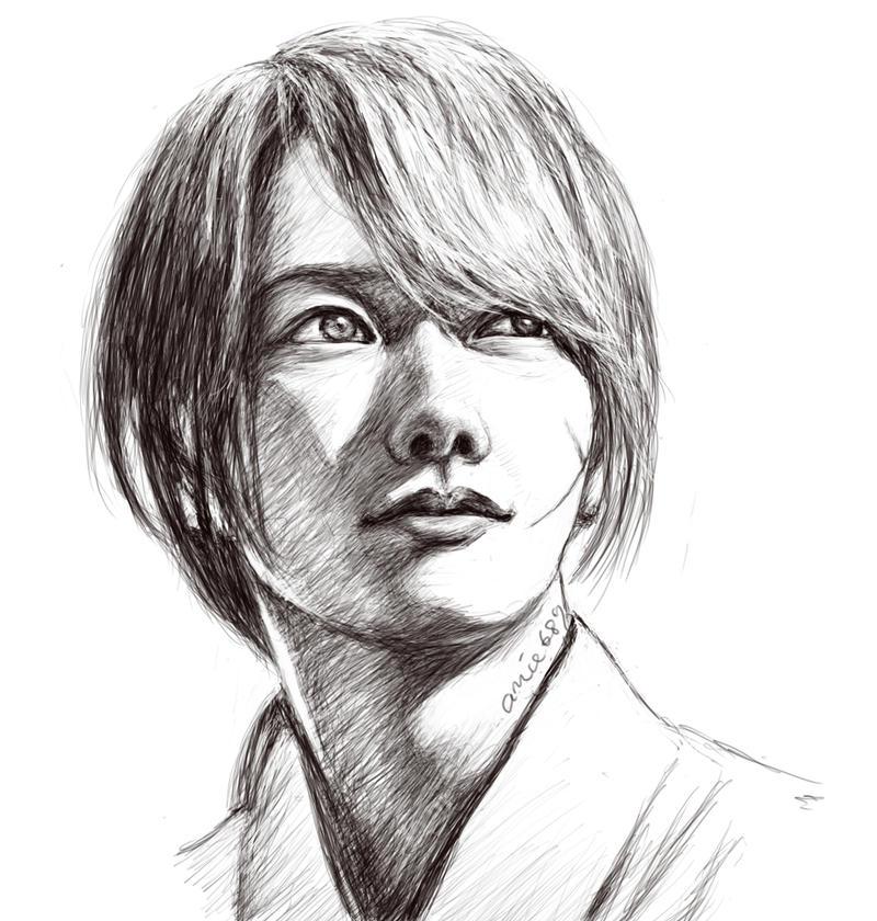 Kenshin Sketch By Amie689