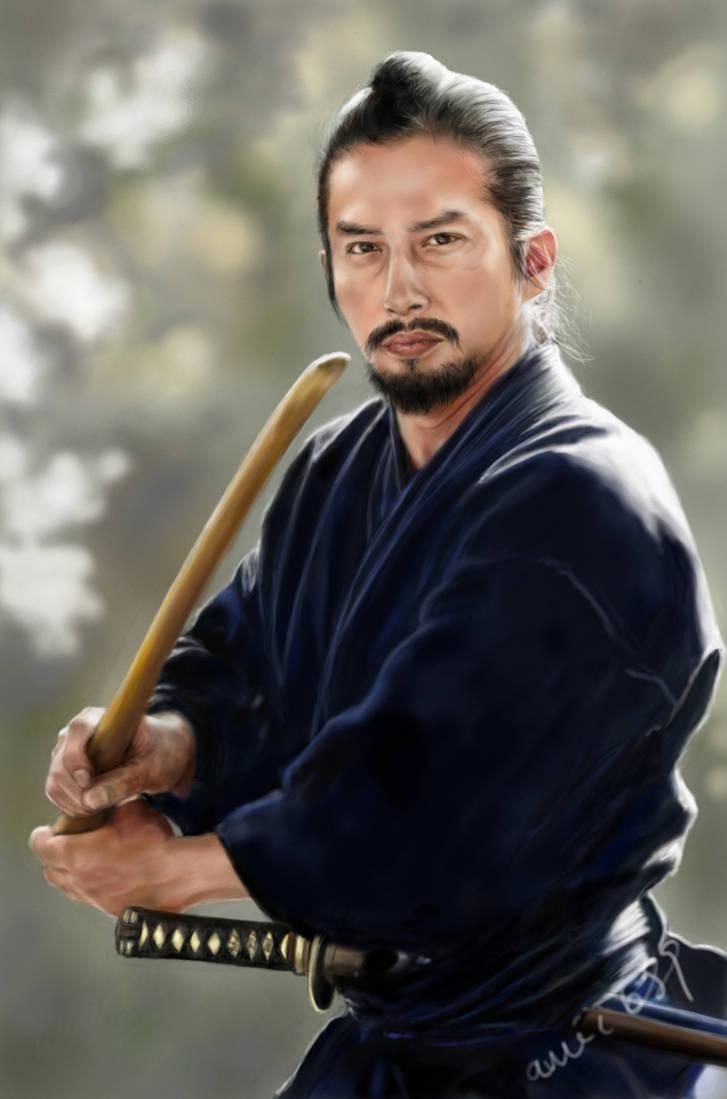 Hiroyuki Sanada as Ujio by amie689