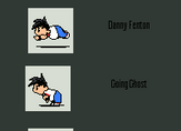 Danny Phantom Running icons--LIST by phantom-ice