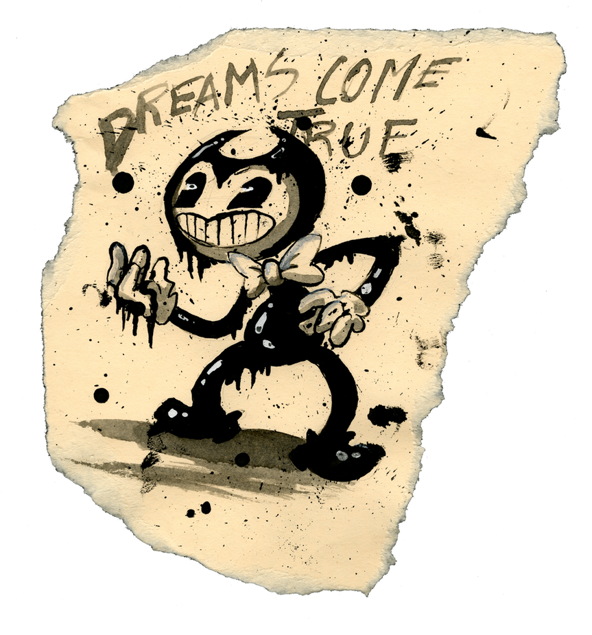 Bendy the Ink Demon by phantom-ice
