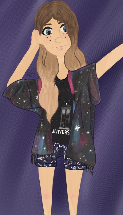Galaxy OOTD by GinaTheTaco