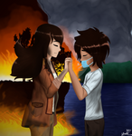 Up in Flames to Ashes by VelvetRose-24