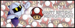 Mushroom MK: Happy B-day