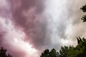 Purple Sky by Labyr1nth