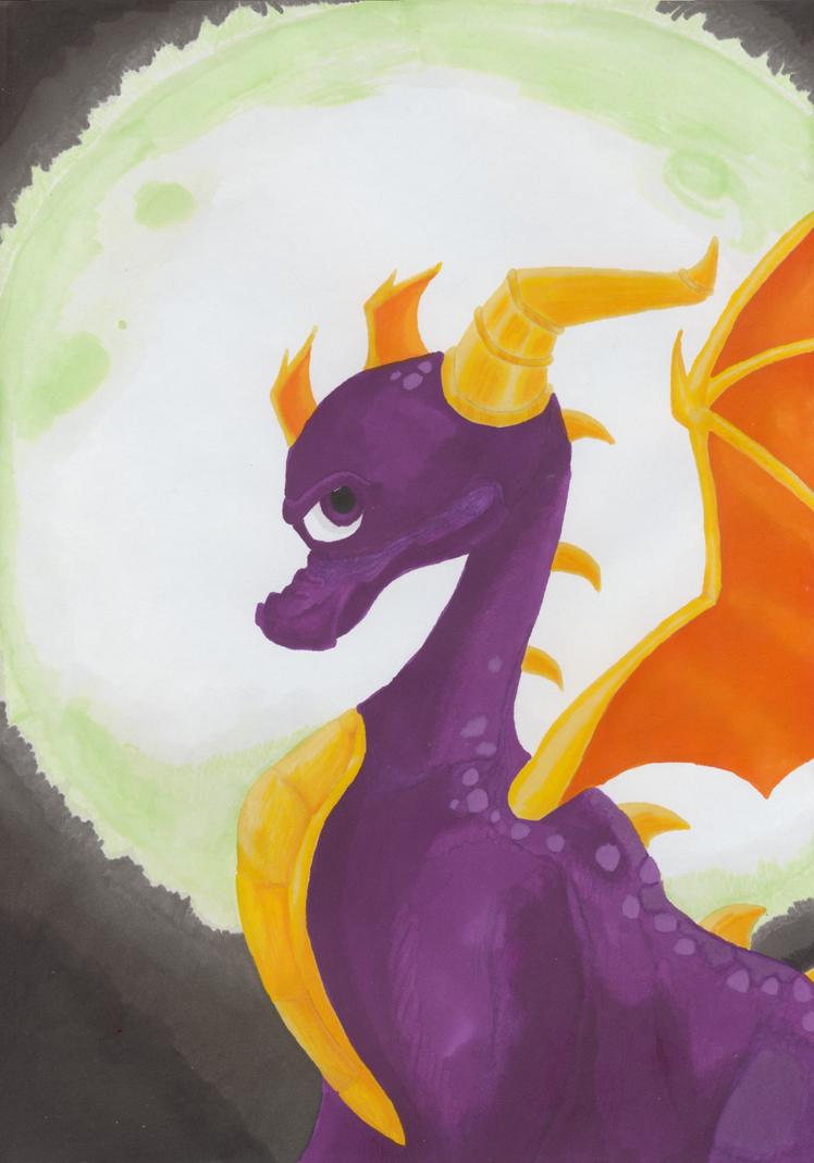 Spyro: Eternal Night by katkerrykat