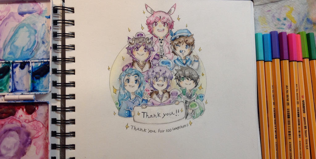 ~Thank you!~ by TripleTartArt3