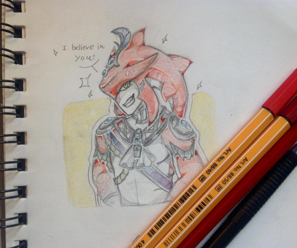 I believe in you! by TripleTartArt3