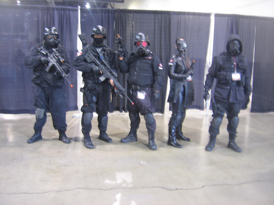 Anime Vegas Day 2 Resident Evil cosplayers USS by Demon-Lord-Cosplay