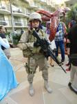 Anime Los Angeles 2015 USMC infantry