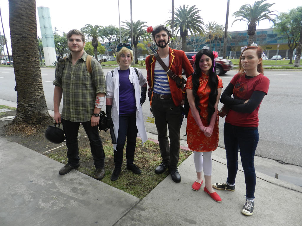 Anime Los Angeles 2015 The Last of Us by Demon-Lord-Cosplay