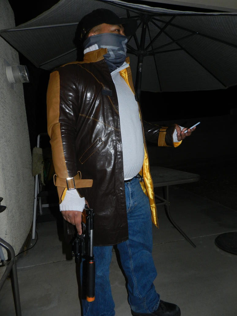Watch Dogs Aiden Pearce test shot 1 by Demon-Lord-Cosplay