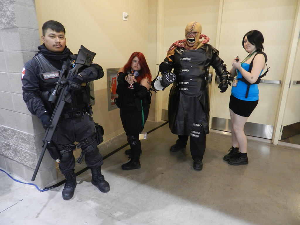 phoenix comicon 2015 resident evil nemesis by demonlord