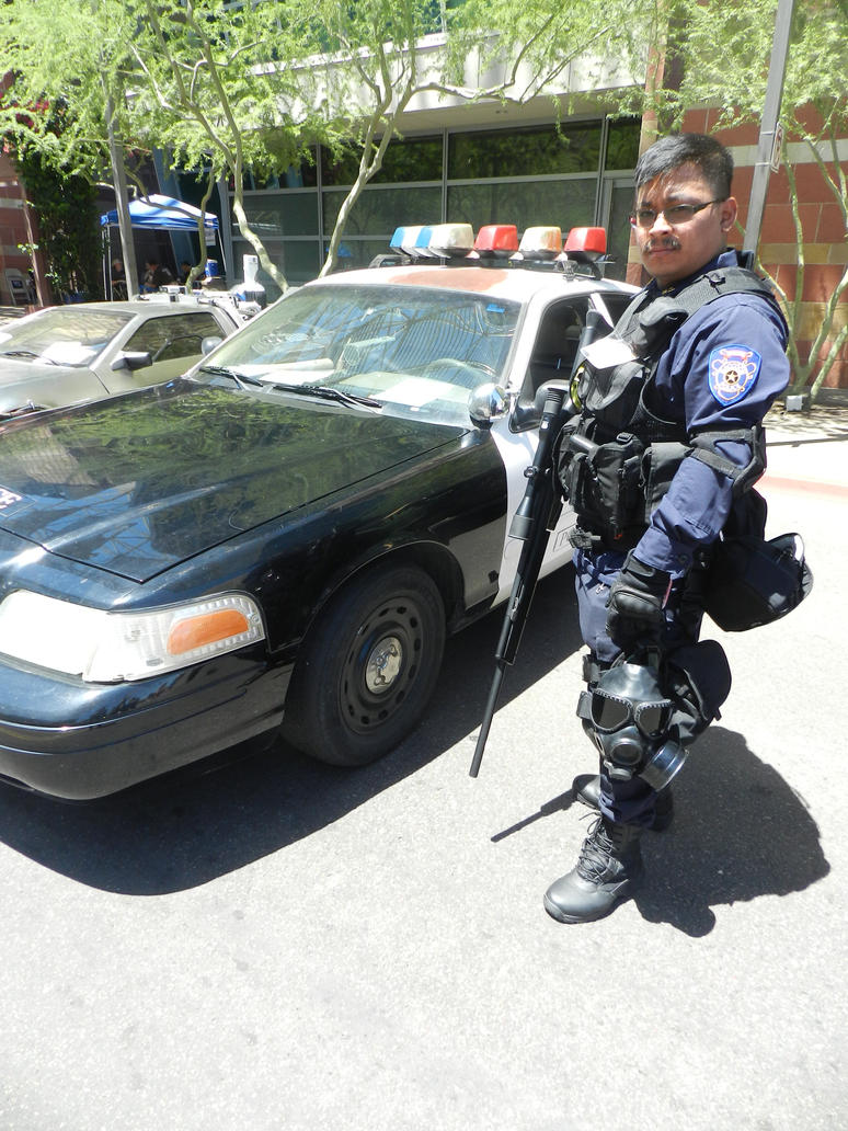 Phoenix Comicon 2015 Resident Evil RPD by Demon-Lord-Cosplay