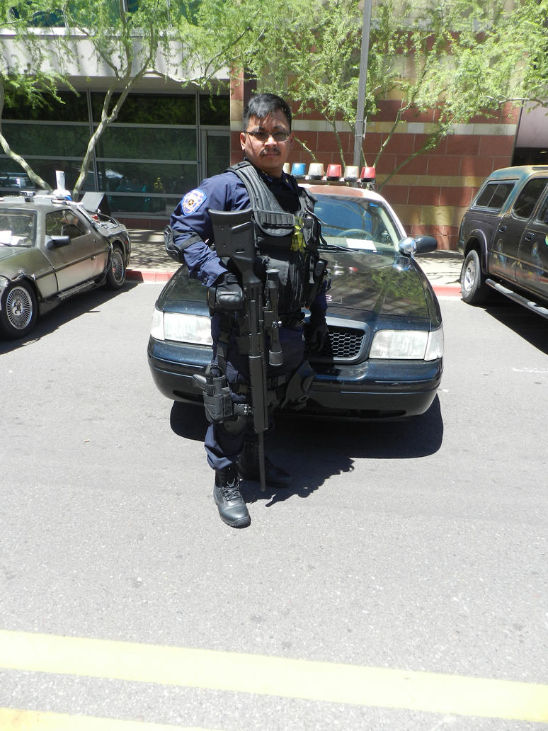 Phoenix Comicon 2015 Resident Evil RPD SWAT by Demon-Lord-Cosplay