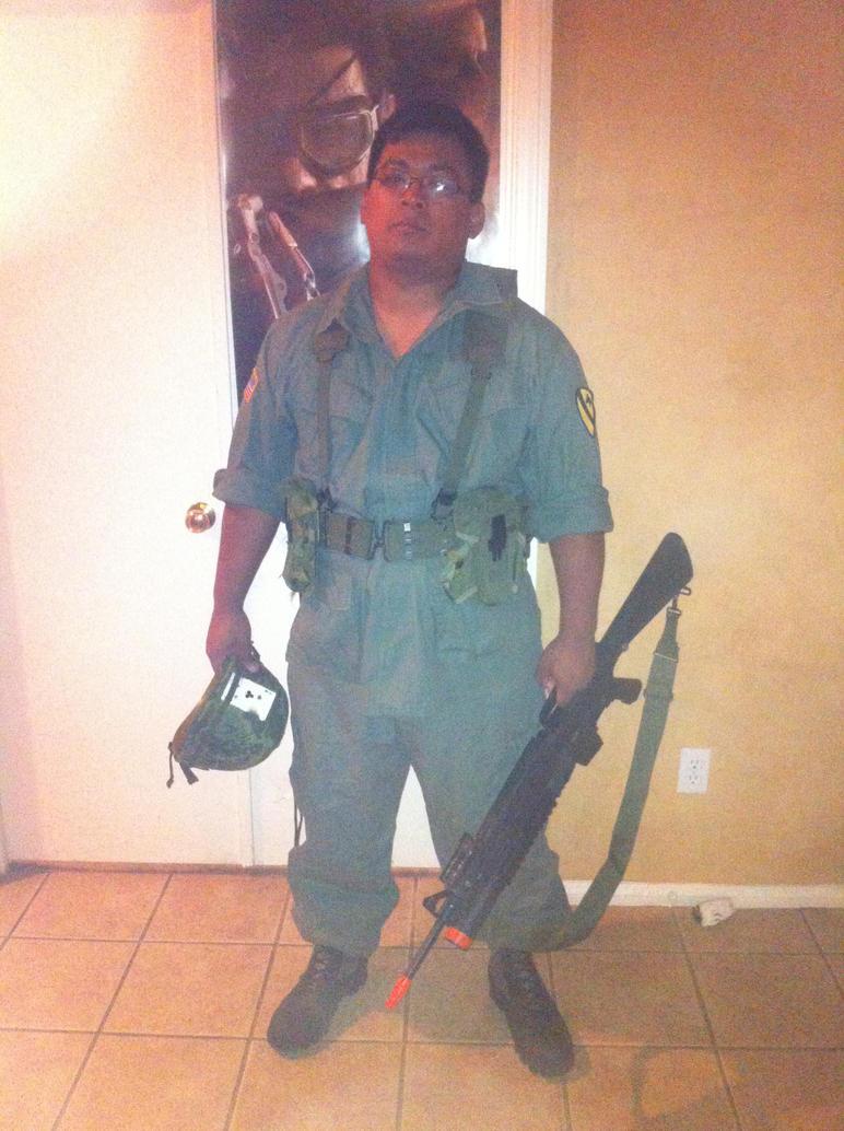 Mil-Sim cosplay: Vietnam War by Demon-Lord-Cosplay
