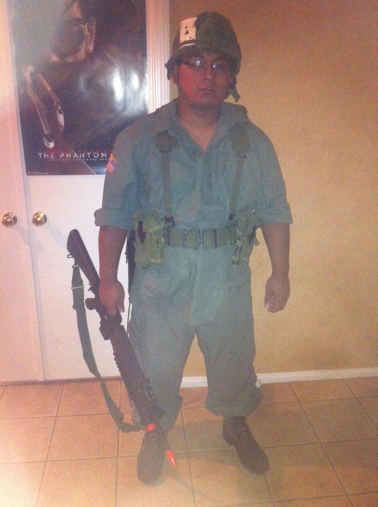 Milsim cosplay: Vietnam War US soldier by Demon-Lord-Cosplay