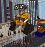 Wall-e  Parade Balloon by Romethehybrid