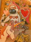 A very Wall-e Valentine's day