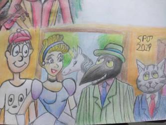 Adam,Cindi meet Duke and Fritz by Romethehybrid