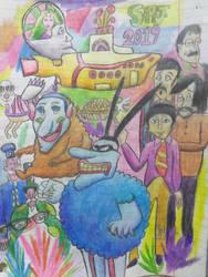 Yellow Submarine tribute by Romethehybrid