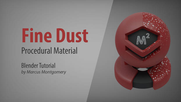 How to Make Procedural Fine Dust in Blender