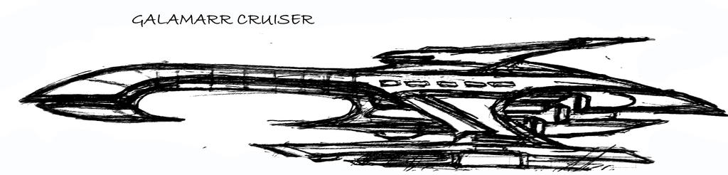 Galamarr cruiser concept by Triumviratus