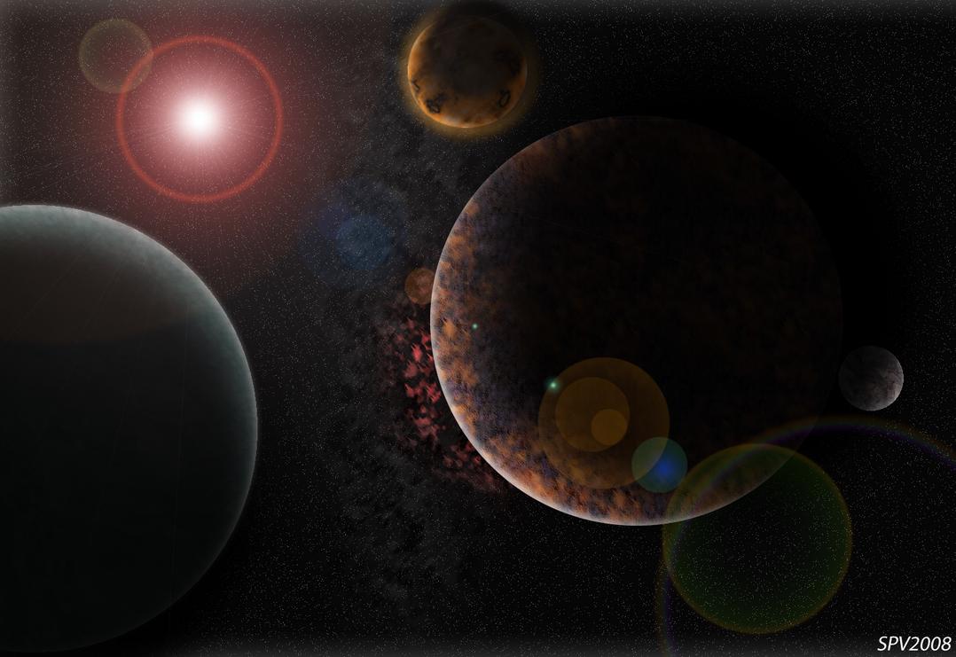 Solar System Wallpaper by Kaixamasatokusaka on DeviantArt