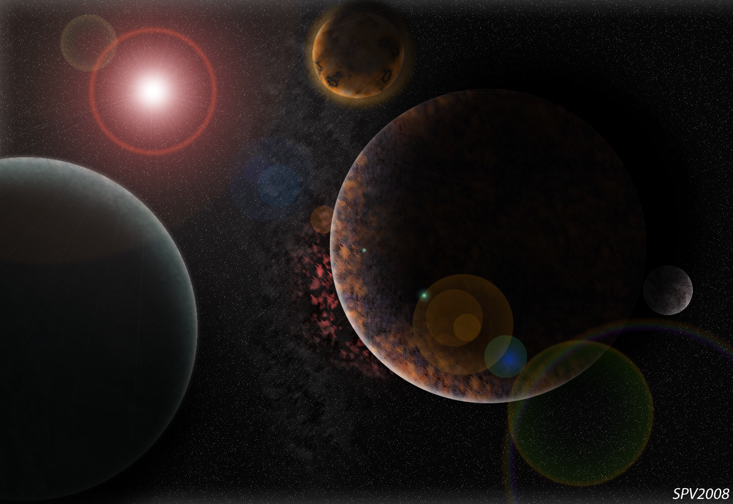 planets in the solar system wallpaper - photo #18