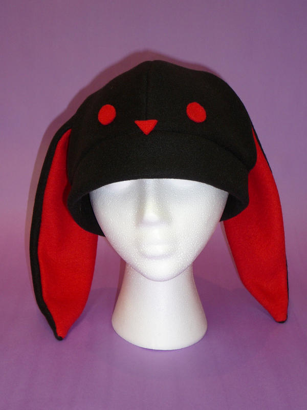 Adorably Demonic Bunny Hat by FishingForBirdies