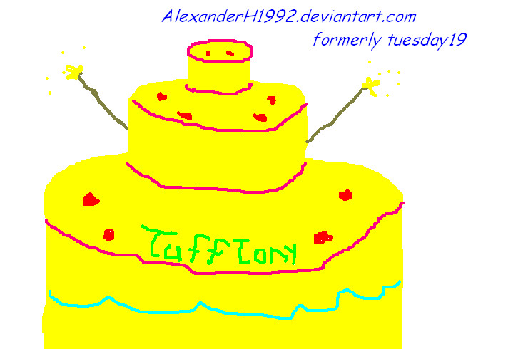 Happy Birthday, TuffTony by AlexanderH1992