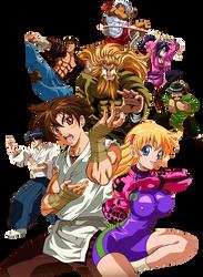 Ryozanpaku Dojo Team