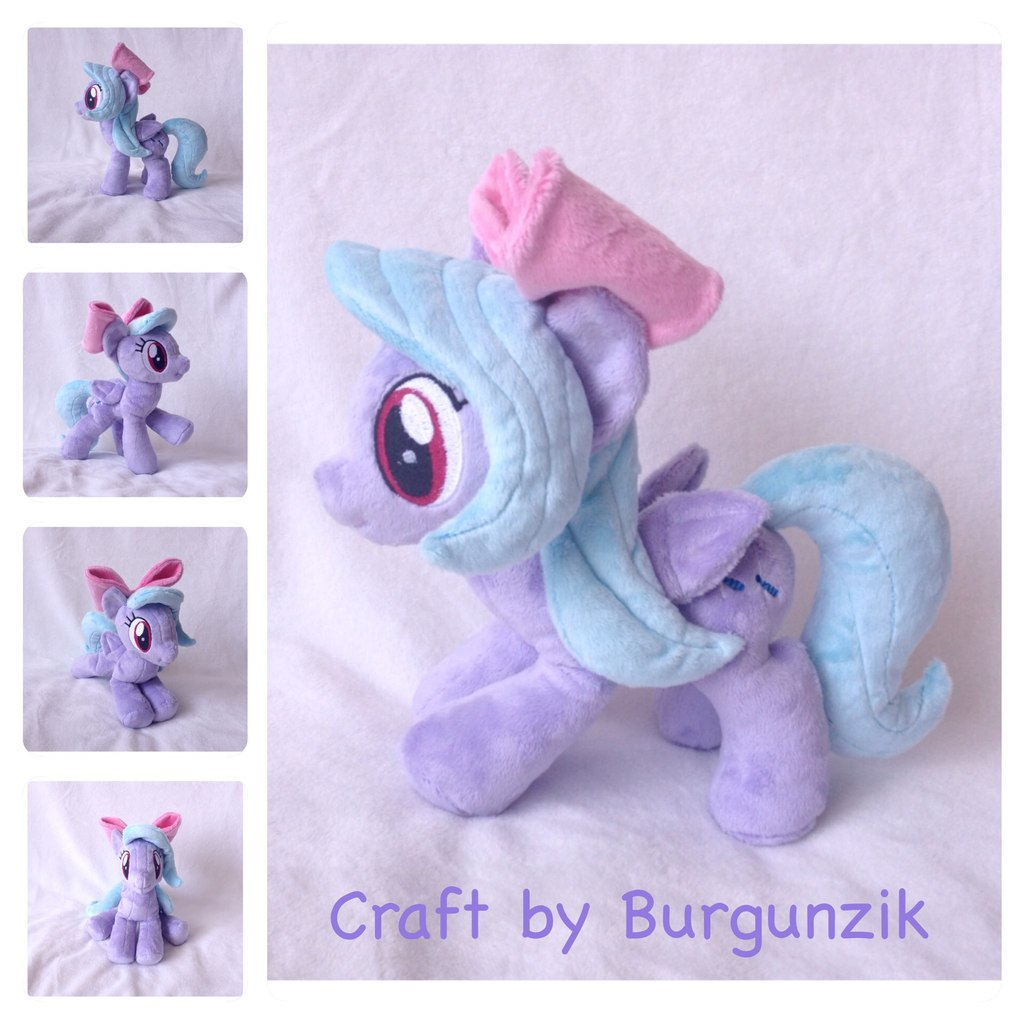 Commission: My Little Plushie Flitter by RufousCat