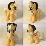 Applejack Plush Handmade Custom My Little Pony