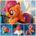 Scootaloo Plush Handmade Custom My Little Pony