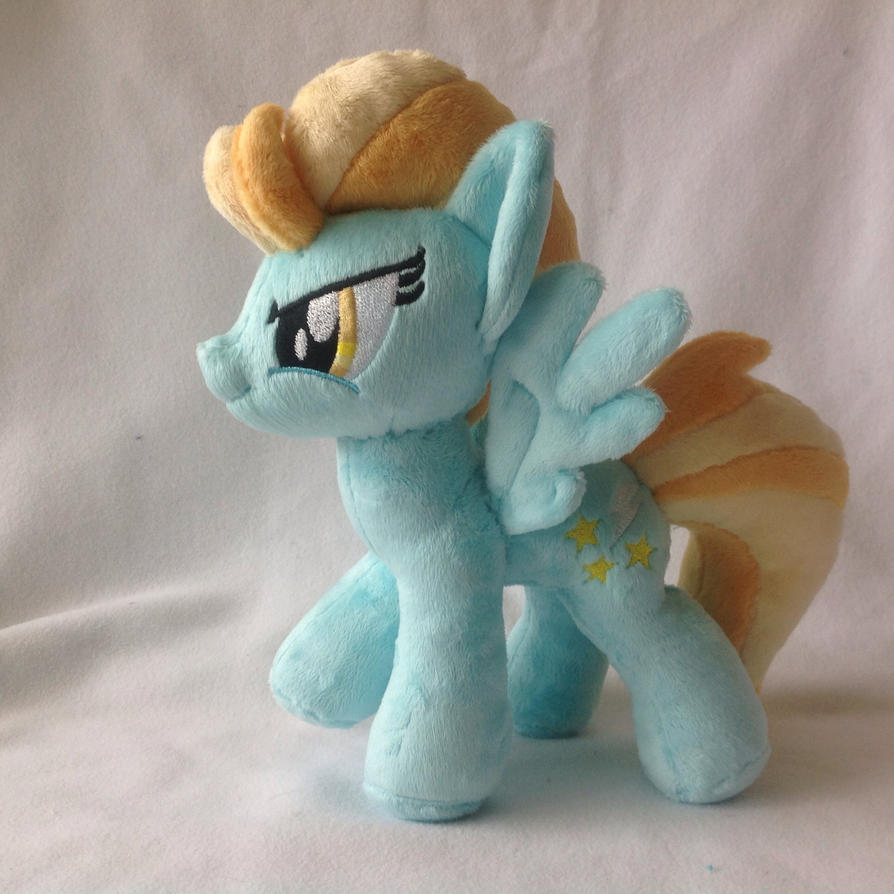Lightning Dust Plush Pony by RufousCat