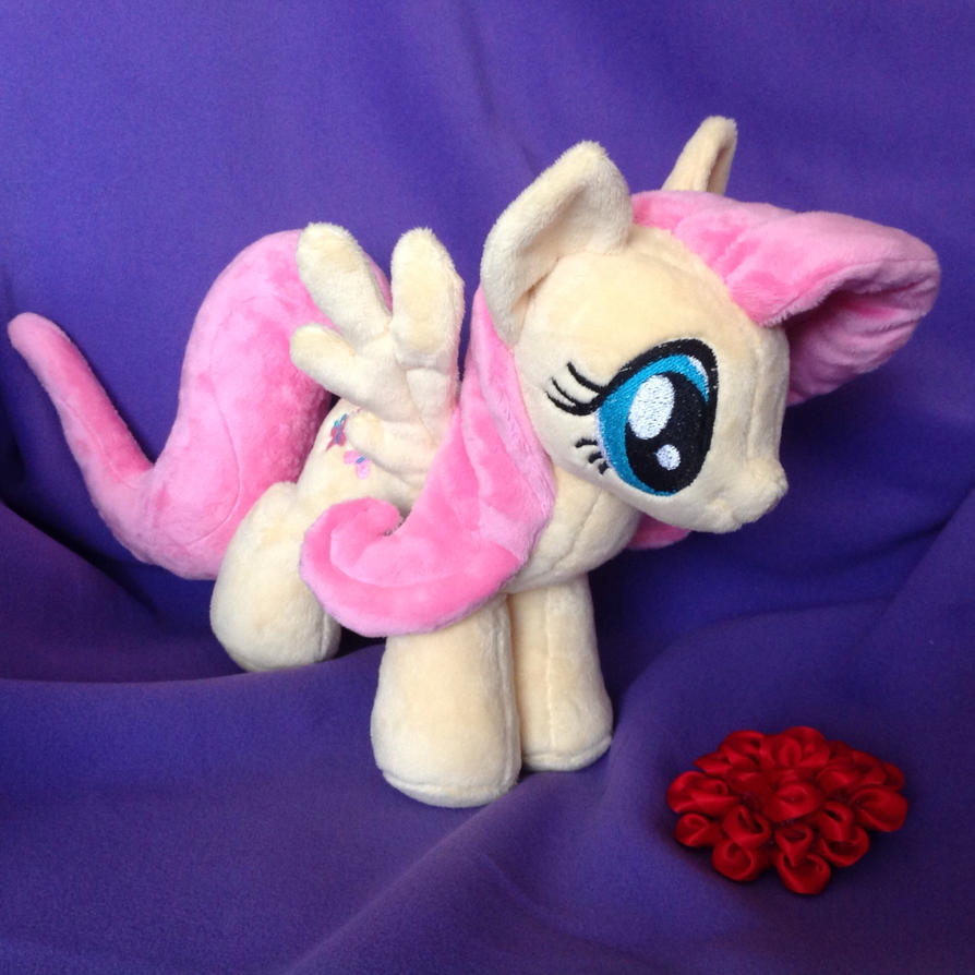 Plushie Fluttershy by RufousCat