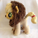 Applejack Lion Plushie - 5 season My Little Pony