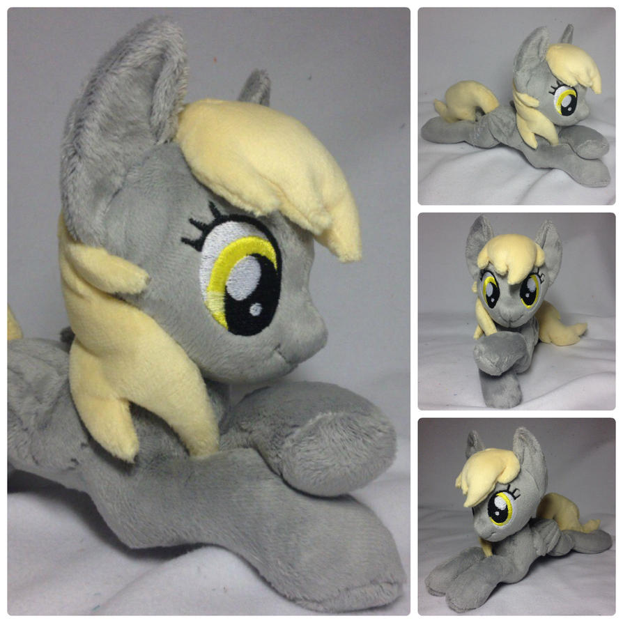 Plushie Derpy Hooves aka Ditzy Doo, aka Muffins by RufousCat