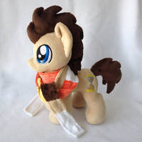 Plushie Dr Whooves by Burgunzik