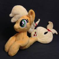 Plushie Applejack Mermaid (Sea Pony) by Burgunzik