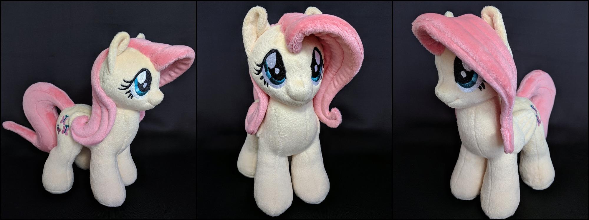Fluttershy Plush Pony by Burgunzik