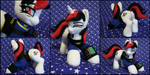 Plush Blackjack-Fallout Equestria:Project Horizons by Burgunzik