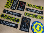 Fallout: Equestria Patches (chevrons)